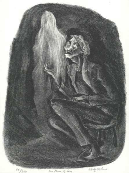 Print by Adolf Dehn: One Phase of Love, represented by Childs Gallery