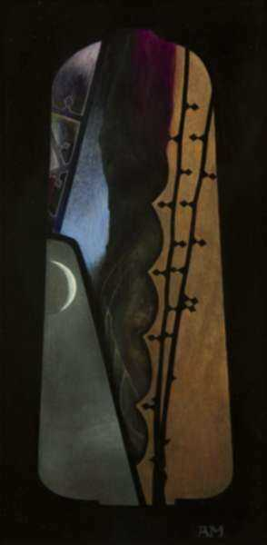 Painting by Anthony Moore: Pavise No. 4 Study I, represented by Childs Gallery