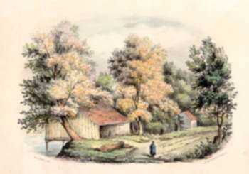 Print by Benjamin F. Smith, Jr.: Old Road - Russel, MA, represented by Childs Gallery