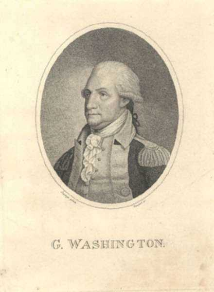 Print by Benjamin Tanner after Edward Savage: George Washington, represented by Childs Gallery