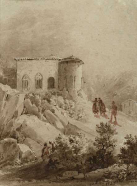 Drawing by British School: [Gentilly], represented by Childs Gallery