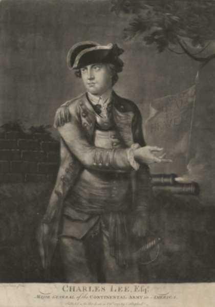 Print by C. Shepherd: Charles Lee Esq., represented by Childs Gallery