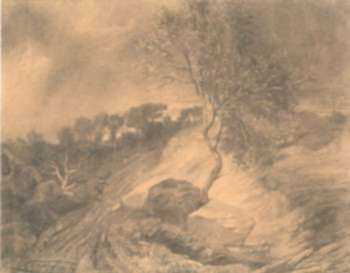 Drawing by Célestin Nanteuil: The Approaching Storm, represented by Childs Gallery