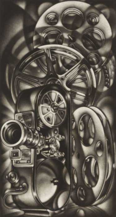 Print by Carol Wax: Photo Reelism, represented by Childs Gallery