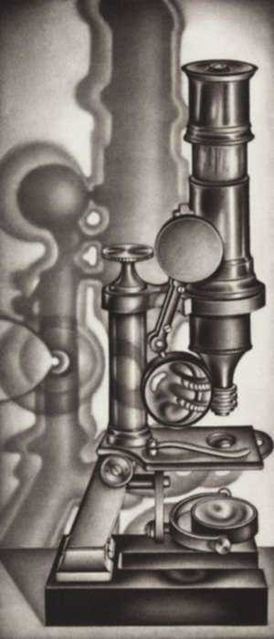 Print by Carol Wax: Scopes, represented by Childs Gallery