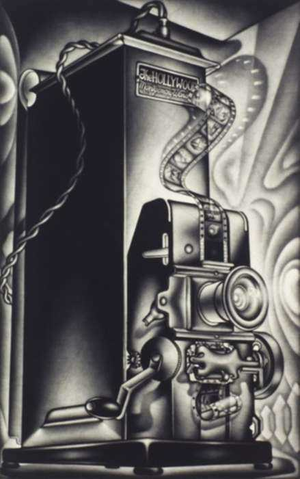 Print by Carol Wax: The Hollywood, represented by Childs Gallery