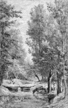 Print by Charles François Daubigny: Un Ruisseau du Valmondois, represented by Childs Gallery