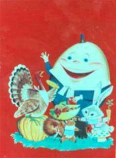 Watercolor by Dan Lawler: Humpty Dumpty Children's Magazine Covers, represented by Childs Gallery