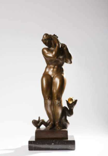 Sculpture by Donald De Lue: Eve, represented by Childs Gallery