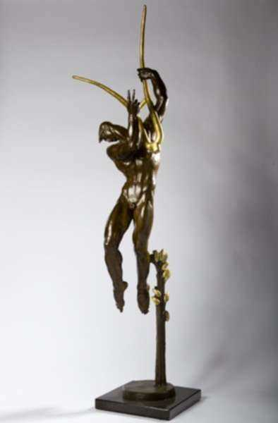 Sculpture by Donald De Lue: Orpheus, represented by Childs Gallery