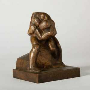Sculpture By Dudley Vaill Talcott: Hip Lock At Childs Gallery
