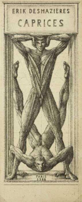 Print by Erik Desmazières: Titre (Caprices), represented by Childs Gallery