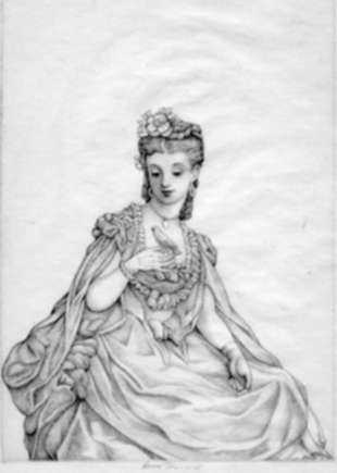 Print by Ernest Haskell: Arabella, represented by Childs Gallery