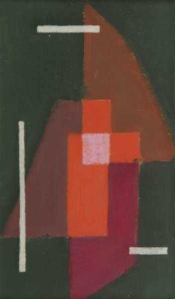Painting by Fritz Levedag: Square, represented by Childs Gallery