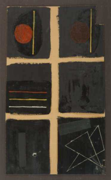 Painting by Fritz Levedag: Windows, represented by Childs Gallery