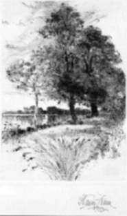 Print by Harry Fenn: [Landscape], represented by Childs Gallery