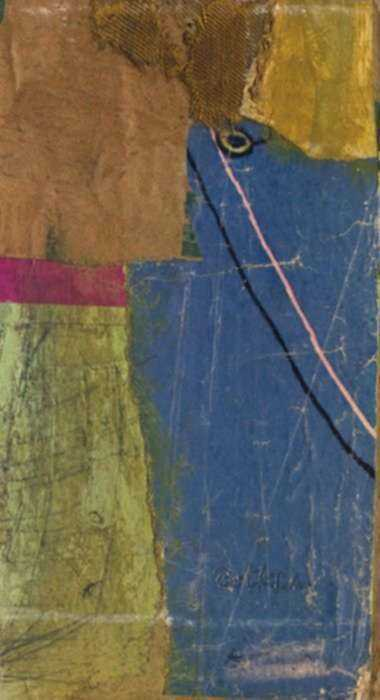Collage by Henry Botkin: Etude No. 4, represented by Childs Gallery