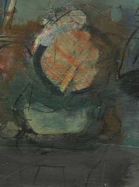 Mixed Media By Henry Botkin: [untitled] At Childs Gallery