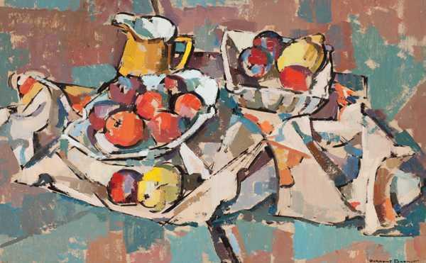 Herbert Barnett and the Cubist Still Life