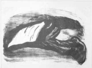 Print by Isidoro Ocampo: Hombre, represented by Childs Gallery