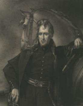 Print by James B. Longacre: Major General Andrew Jackson, represented by Childs Gallery