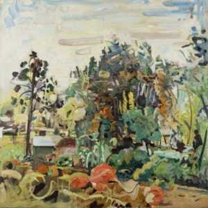 Painting by Jonathan Imber: Sudbury, represented by Childs Gallery