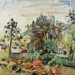 Painting By Jonathan Imber: Sudbury At Childs Gallery