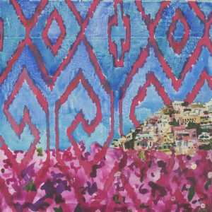 By Lee Essex Doyle: Bougainvillia At Childs Gallery