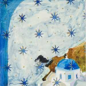 By Lee Essex Doyle: Cerulean Stars At Childs Gallery