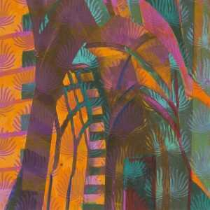 Mixed Media By Lee Essex Doyle: Mediterranean Night At Childs Gallery