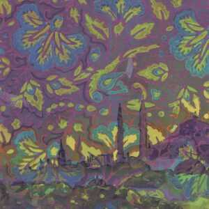 By Lee Essex Doyle: Minaret Afterglow At Childs Gallery