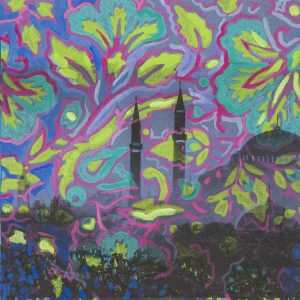 Mixed Media By Lee Essex Doyle: Minaret Memories At Childs Gallery