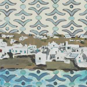 Mixed Media By Lee Essex Doyle: Mykonos Memories At Childs Gallery