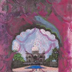 By Lee Essex Doyle: Pink Taj At Childs Gallery