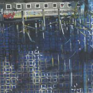 Mixed Media By Lee Essex Doyle: Rockport Harbor At Childs Gallery