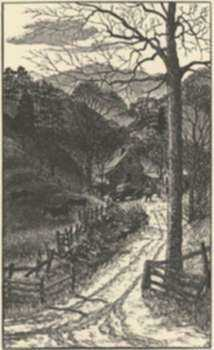 Print by Leo Meissner: Mountain Home [North Carolina], represented by Childs Gallery