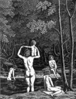 Print by Leo Meissner: Tranquility, represented by Childs Gallery