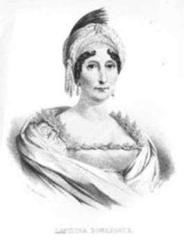 Print by Louis Dupré: Laetitia Bonaparte, represented by Childs Gallery