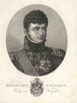 Print by Ludwig Buchhorn: Hieronymus Napoleon, King of Westphalia [Jerome Napoleon], represented by Childs Gallery