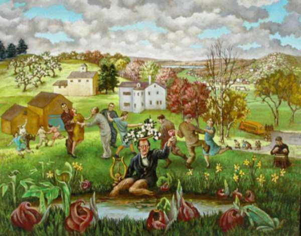 The Watercolors of Albert Swinden