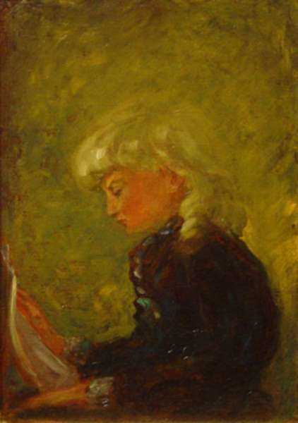 Painting by Otto Heinigke: Attie, represented by Childs Gallery