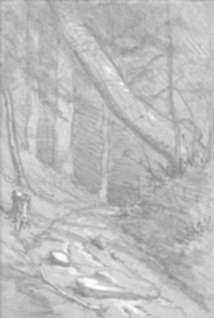 Drawing by Otto Heinigke: Mount Greylock [The Berkshires], represented by Childs Gallery