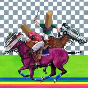 Painting By Paul Endres Jr.: I Ain't Afraid Of No Joust At Childs Gallery