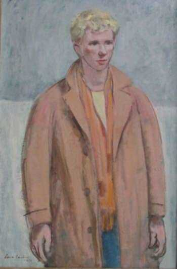 Painting by Paul Parker: Bob Larsen, represented by Childs Gallery