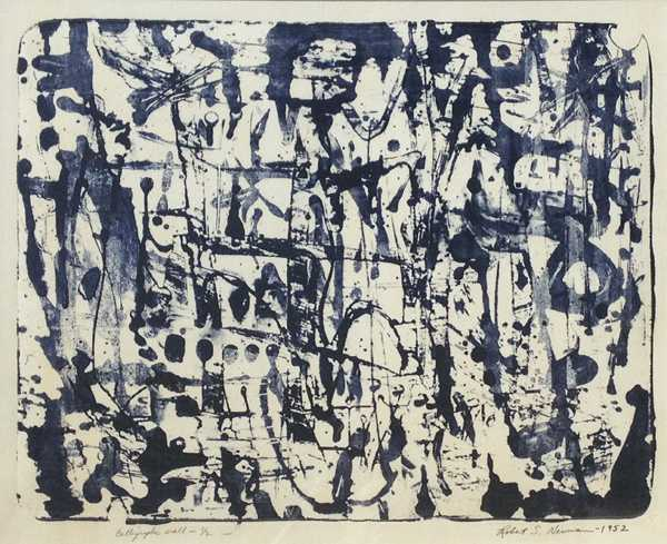 Radical Compositions: AbEx Prints and Paintings