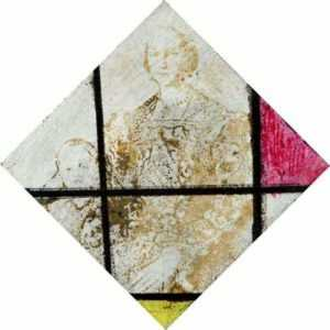 Mixed media by Raphaël Jaimes-Branger: Composition VIII, represented by Childs Gallery