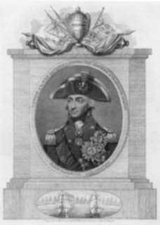 Print by Robert Field: Horatio Nelson, represented by Childs Gallery
