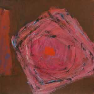 Painting By Ruth Eckstein: Untitled At Childs Gallery