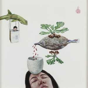 Painting By Sawool Kim: The Remedy At Childs Gallery