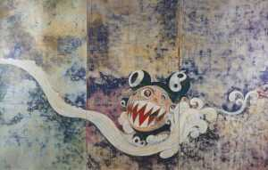 Print By Takashi Murakami: 727 At Childs Gallery